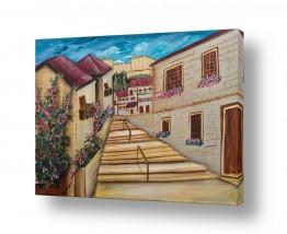 בתים גגות | עיר העתיקה