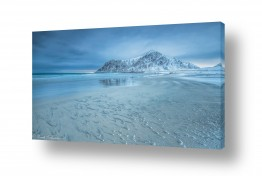 צילומים חופים וים | חול קפוא