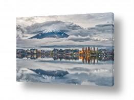תמונות לפי נושאים השתקפות | הר בעננים
