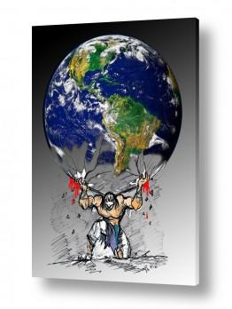 ציורים דוד סלע | זכויות אדם