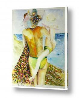 ציורים מים | החוף