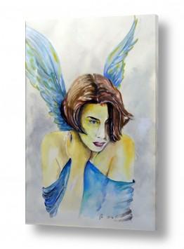 נוף חול | מלאך כחול