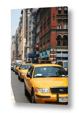 כלי רכב מוניות | צהוב