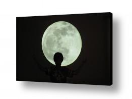 צילומים אסטרונומיה | ירח