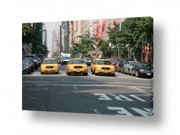 ארצות הברית ניו יורק | מונית צהובה