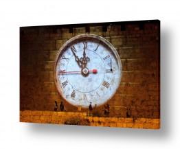 אלמנטים דקורטיביים שעונים   שעון