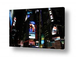 ארצות הברית ניו יורק | טיימס סקוור בלילה 1