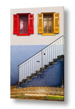 תמונות לפי נושאים צבעים חיים | חלונות ציבעונים