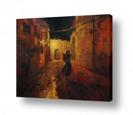 ציורים אנשים ודמויות | חוצות ירושלים