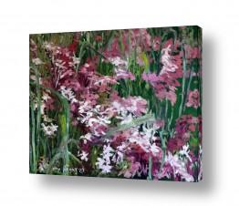 אמנים מפורסמים ציורים שנמכרו | פריחה בסגול