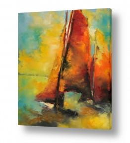 ציורים מים | מרינה הרצליה - מפרש