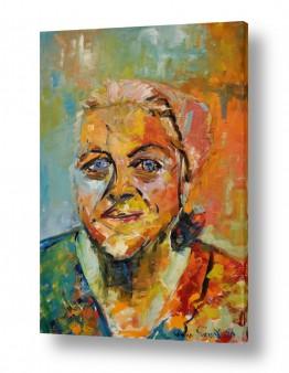 ציורים יהדות | סבתא א