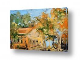 ציורים עירוני וכפרי | הבית הטמפלרי