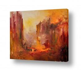 ציורים טבע דומם | עמק האש