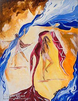 רקוד  הצעיפים