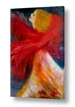 אסתר חן-ברזילי אסתר חן-ברזילי - אמנות מהלב - המילים הפכו לצבעים - ריקודים | ריקוד האש