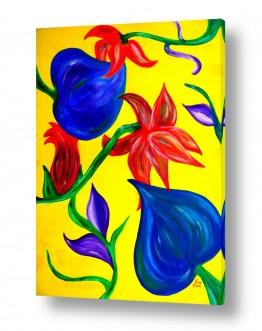 פרחים גבעולים | פריחה 2