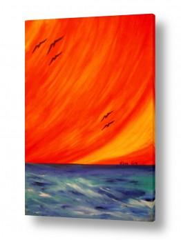 אסתר חן-ברזילי אסתר חן-ברזילי - אמנות מהלב - המילים הפכו לצבעים - קשת | לעוף רחוק