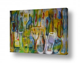 אסתר חן-ברזילי אסתר חן-ברזילי - אמנות מהלב - המילים הפכו לצבעים - מודרני | על הבר