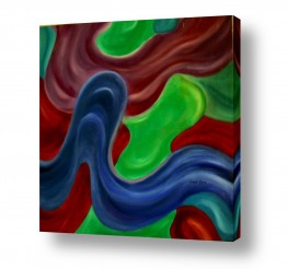 אסתר חן-ברזילי אסתר חן-ברזילי - אמנות מהלב - המילים הפכו לצבעים - תנועה | זרימה