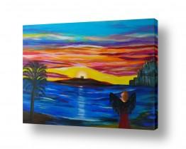 ציורים מים | דמדומים