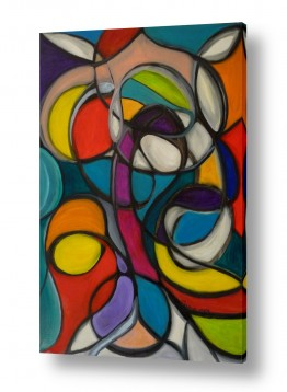 אסתר חן-ברזילי אסתר חן-ברזילי - אמנות מהלב - המילים הפכו לצבעים - ויטראז | ויטראז
