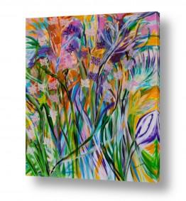 אסתר חן-ברזילי אסתר חן-ברזילי - אמנות מהלב - המילים הפכו לצבעים - צבעוניות | עם בוא האביב