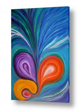 אסתר חן-ברזילי אסתר חן-ברזילי - אמנות מהלב - המילים הפכו לצבעים - הריון | צמיחה