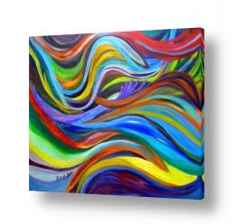 אסתר חן-ברזילי אסתר חן-ברזילי - אמנות מהלב - המילים הפכו לצבעים - צבעוני | ללא מילים
