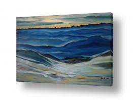 ציורים מים | שירת הים