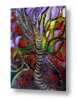 ציורים ציורים אנרגטיים | עץ החיים