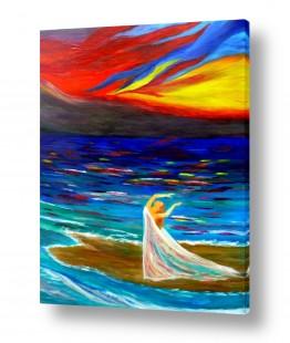אסתר חן-ברזילי אסתר חן-ברזילי - אמנות מהלב - המילים הפכו לצבעים - הרים | תודה לחיים