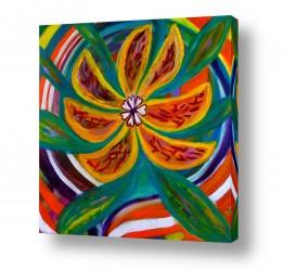 אסתר חן-ברזילי הגלרייה שלי | פרח אקזוטי