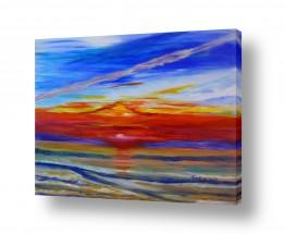 אסתר חן-ברזילי אסתר חן-ברזילי - אמנות מהלב - המילים הפכו לצבעים - צבעוניות | קסם השקיעה 2