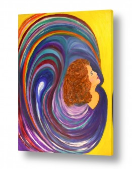 אסתר חן-ברזילי אסתר חן-ברזילי - אמנות מהלב - המילים הפכו לצבעים - מעגלים | אל האור 2