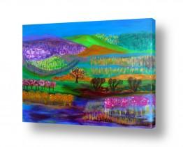 אסתר חן-ברזילי אסתר חן-ברזילי - אמנות מהלב - המילים הפכו לצבעים - צבעוני | פארק