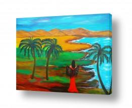 אסתר חן-ברזילי אסתר חן-ברזילי - אמנות מהלב - המילים הפכו לצבעים - הרים | לגונה