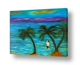 ציורי שמן - נוף נופים | באיי סיישל