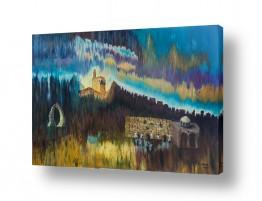אסתר חן-ברזילי אסתר חן-ברזילי - אמנות מהלב - המילים הפכו לצבעים - שחר | אם אשכחך ירושלים ...