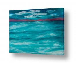 אסתר חן-ברזילי אסתר חן-ברזילי - אמנות מהלב - המילים הפכו לצבעים - הרים | ים הטורקיז
