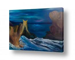 ציורים מים | הים המכושף