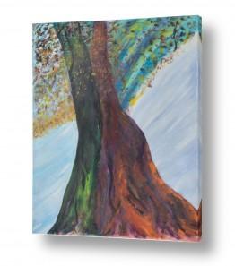 אסתר חן-ברזילי אסתר חן-ברזילי - אמנות מהלב - המילים הפכו לצבעים - גזעים | טנגו באביב