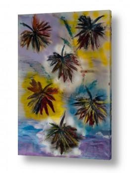 אסתר חן-ברזילי אסתר חן-ברזילי - אמנות מהלב - המילים הפכו לצבעים - מודרני | סתו