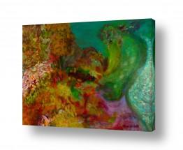 אסתר חן-ברזילי אסתר חן-ברזילי - אמנות מהלב - המילים הפכו לצבעים - צמח אקזוטי | רכות הבוקר