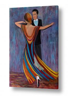 אסתר חן-ברזילי אסתר חן-ברזילי - אמנות מהלב - המילים הפכו לצבעים - ריקודים | טנגו