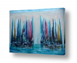 אסתר חן-ברזילי אסתר חן-ברזילי - אמנות מהלב - המילים הפכו לצבעים - השתקפות | גורדי שחקים