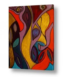 אסתר חן-ברזילי אסתר חן-ברזילי - אמנות מהלב - המילים הפכו לצבעים - עיניים | בתנועת ריקוד