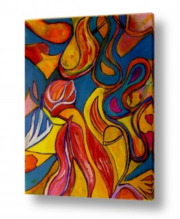אסתר חן-ברזילי אסתר חן-ברזילי - אמנות מהלב - המילים הפכו לצבעים - תנועה | התחדשות
