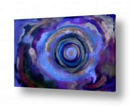 אסתר חן-ברזילי אסתר חן-ברזילי - אמנות מהלב - המילים הפכו לצבעים - מעגלים | העין השלישית