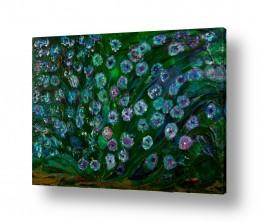 אסתר חן-ברזילי אסתר חן-ברזילי - אמנות מהלב - המילים הפכו לצבעים - גבעולים | שיח פרחים